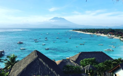 The best view in Nusa Lembongan